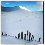 Ski fence at Cairngorm Mountain
